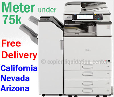 Ricoh MP C3003 MPC3003 Color Laser Copier Print Fax Scan to Email. 30 ppm  vrt