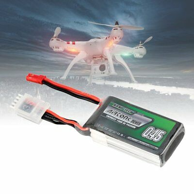 Airtonk Power 11.1V 450mAh 30C 3s 1P Lipo Battery JST Plug for RC Drone Car DU