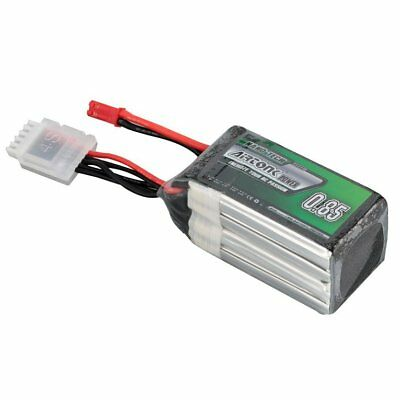 Airtonk Power 14.8V 850mAh 30C 4s 1P Lipo Battery JST Plug for RC Drone Car DU