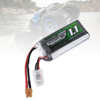Airtonk Power 11.1V 1100mAh 30C 3s 1P Lipo Battery XT30 Plug for RC Drone Car DU
