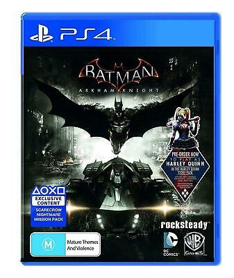 Batman Arkham Knight PS4 - Playstation 4  - Excellent Condition