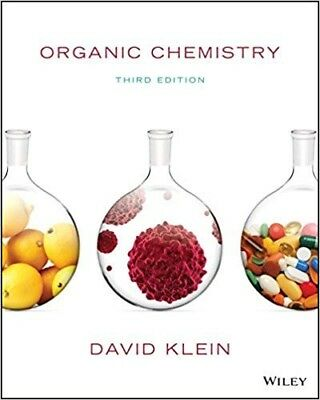 Organic Chemistry: 3rd Edition David Klein (TEXTBOOK+SOLUTIONS MANUAL) (PDF)