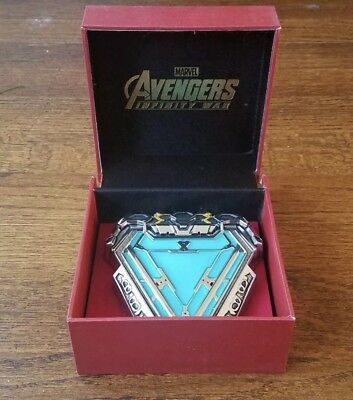 Marvel Official Licencsed Tony Star Arc Reactor Iron Man Magnetic Pin