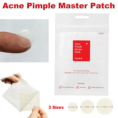 24pcs/set Cosrx Acne Pimple Patches Face Spot Scar Care Treatment StickeQ6