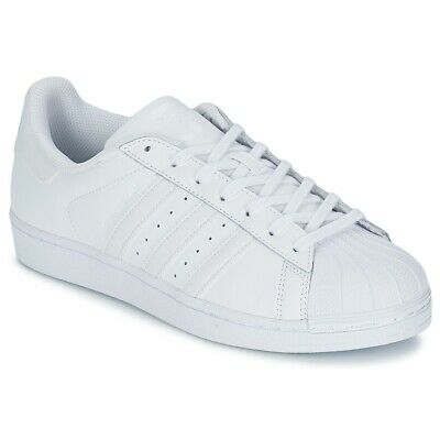 new product c6d44 a2934 Sneakers Scarpe uomo adidas SUPERSTAR FOUNDATION Bianco Cuoio adidas 1404.