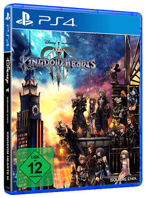 Kingdom Hearts III -- Standard Edition (Sony PlayStation 4, 2019)