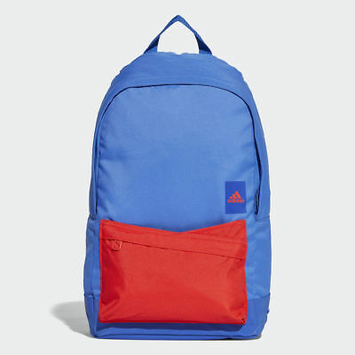 359686de8dc6 Adidas Classic Backpack Rucksack Work Travel Gym School Bag CG0514 - Blue    Red