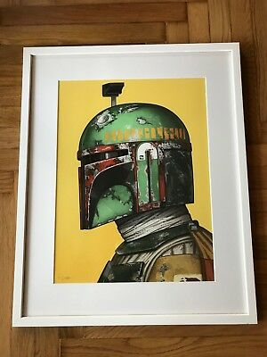 Mondo Boba Fett limited time poster by Mike Mitchell 2726/2755 SOLD OUT
