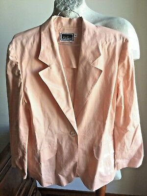 GIACCA DONNA LUISA SPAGNOLI JACKE COTTON VINTAGE 100% WOMAN CAMICIA size 44 79bd896a327