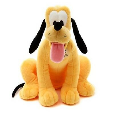 Official Disney Store Pluto The Dog Small Soft Plush Toy Freestanding 25cm Tall