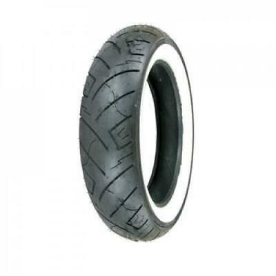 Shinko 777 Front H.D. Motorcycle Tire 130/90B-16 (73H) White Wall