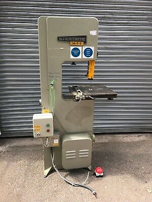 Startrite 14-S-5 Bandsaw 3 Phase 5 Speed