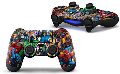 PS4 Controller Decal Sticker Skin - Avengers C For Dualshock 4 Controller