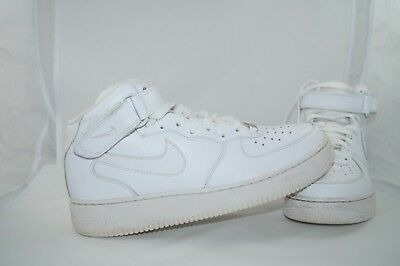 online store 657c0 0ee40 Nike Air Force 1 AF-1 MID 07 EU 45 US 11 Weiss 315123-