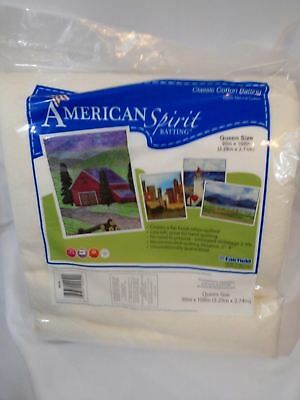 "American Spirit Classic Cotton Batting 90"" X 108"""