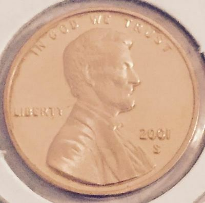 2001-S Proof Lincoln Memorial Cent   #3
