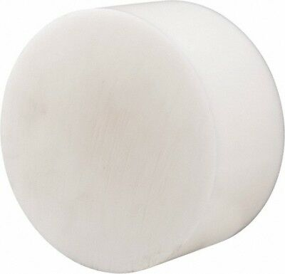 Made in USA 3 Inch Diameter, 3 Inch Thick, Plastic Disc Natural, Acetal