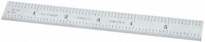 "Starrett 6"" Long, 1/64, 1/50, 1/32, 1/10"" Graduation, Flexible Steel Rule 3R ..."