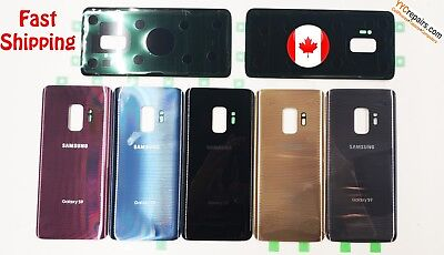 OEM Samsung Galaxy S9 Plus G965 Rear Glass Back Battery Cover Housing Adhesive