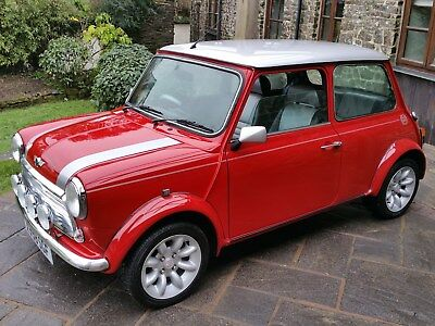 Classic Mini Cooper Sport In The Last Edition Colours On Just 16700 Miles.