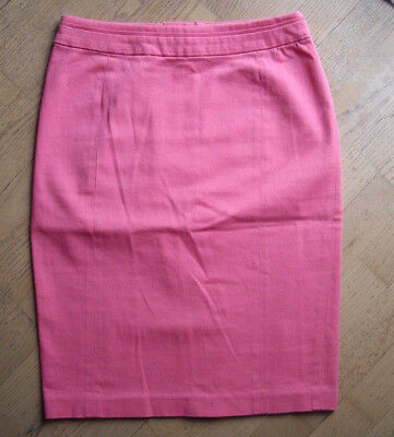 0392187e911e1e H&M Bleifstiftrock Mini S 34 36 Minirock pink Skirt Rock High Waist neu
