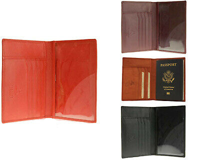 Brand New!! Visconti Soft Leather Secure RFID Blocking Passport Cover Wallet