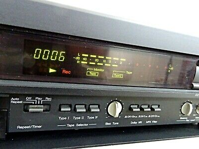 NAKAMICHI Cassette Deck 1.5 Audiophile 3 Heads Tape Recorder Dolby BC Serviced