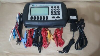Dranetz  Power Platform Analyzer PP-4300 V2.3,  3 Phase w/ TaskCard PQLite