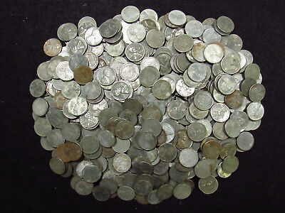 CULLS 1943 Lincoln Wheat Steel Cents CULLS Mixed Mint Marks 500 COINS CULLS
