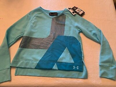 NWT Girls UNDER ARMOUR Long Sleeve Shirt! Size YXL Fitted Nice!