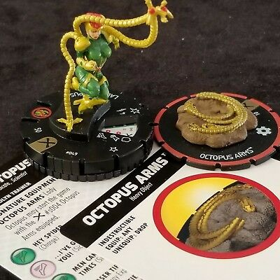 LADY OCTOPUS - 049 & OCTOPUS ARMS s004 Super Rare EARTH X Heroclix #49