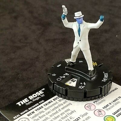 THE ROSE  - 039 Rare EARTH X Heroclix #39