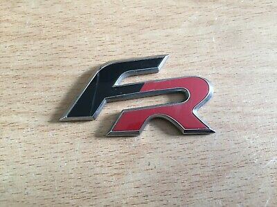SEAT FR Rear Boot Badge Emblem for Leon Ibiza FR TFSI 2.0