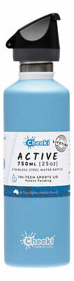 Stainless Steel Bottle - Surf (Active) 750ml - Cheeki