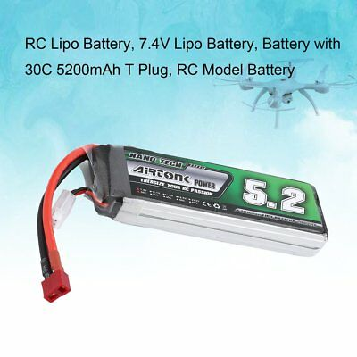 Airtonk Power 11.1V 1000mAh 30C 2s 1P Lipo Battery T Plug for RC Drone Car A YK