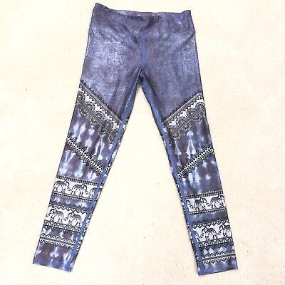 bb018b5f360c0 EVCR Evolution And Creation Active Yoga Pants Small Women's Elephant Blue M8