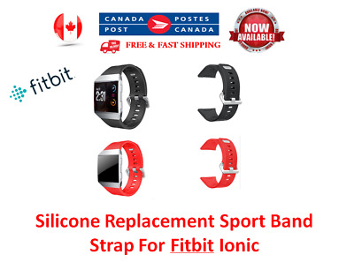 Silicone Replacement Sport Band Strap For Fitbit Ionic Smart Fitness Watch