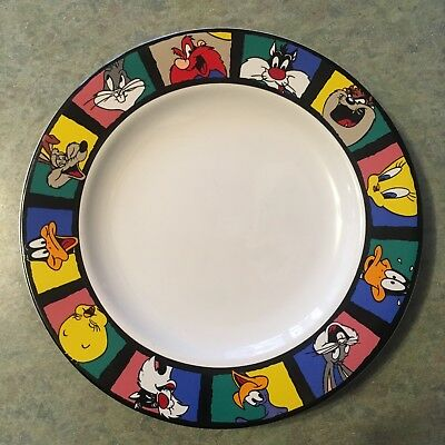 "Vintage Looney Tunes 8"" Plate 1994 By Sakura Warner Bros. New Condition"