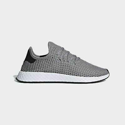 pretty nice 2fa9f fcc3e New Adidas Originals Deerupt Runner B41766 Mens Size 13 Shoes Graywhite