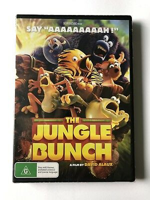 The Jungle Bunch (2018) DVD Movie 🍿 Brand New & Sealed Rated G Kids Region 4