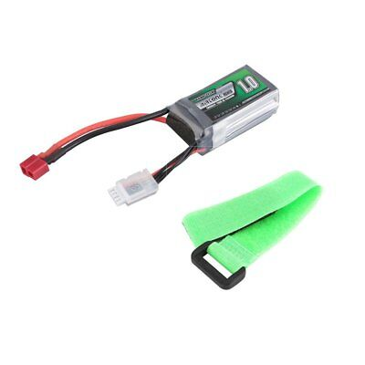 Airtonk Power 11.1V 1000mAh 30C 3s 1P Lipo Battery T Plug for RC Drone Car MI