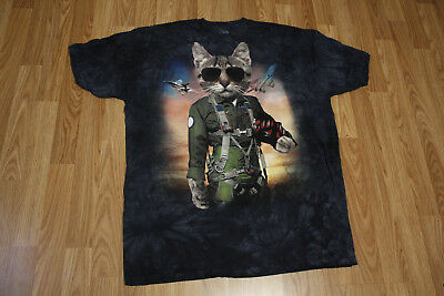 fb5f4600 2 Lot of The Mountain Unisex Adult Tom Cat and Cataclysm Manimal T Shirt XXL