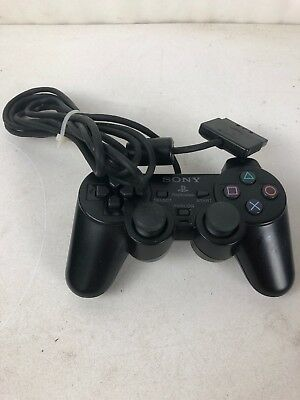 Playstation 2 Controller Black SCPH-10010 Official OEM