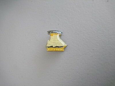 Cutty Sark Scotch Whisky - Advertising Hat Badge/Lapel Pin