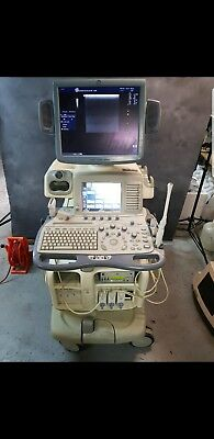 GE LOGIC 9 Ultrasound year 2007 with 3 Probes good condition