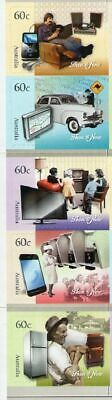 2012 Australian Decimal Booklet - Technology - MNH - 10x60c Self-adhesive stamps