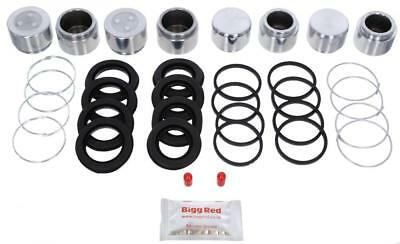for MITSUBISHI 3000 GT 1989-99 FRONT Brake Caliper Repair Kit +Pistons (BRKP366)