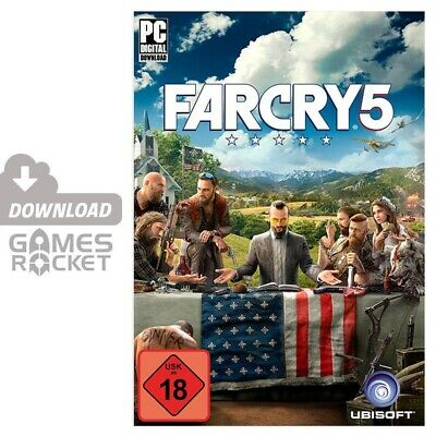Far Cry 5 - offizieller Uplay Code Key Download PC