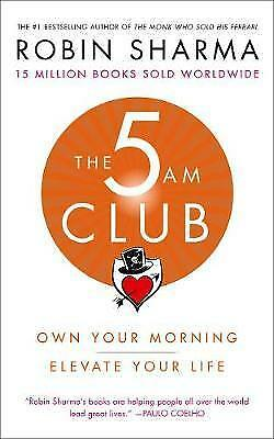 NEW The 5am Club By Robin Sharma Paperback Free Shipping
