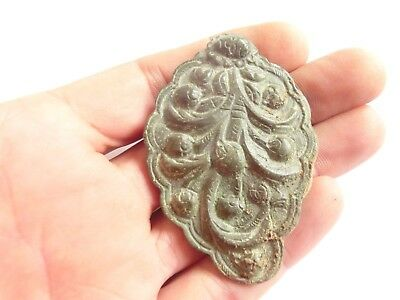 Hallstatt Culture Large CRAB SYMBOL Ancient CELTIC Druid Bronze AMULET /TALISMAN